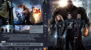 Fantastic Four dvd cover