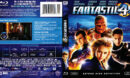 Fantastic 4 (2005) R1 Blu-Ray DVD Cover