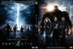 Fantastic Four (2015) R0 Custom DVD Cover