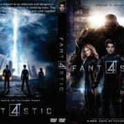 Fantastic Four (2015) R0 Custom DVD Cover