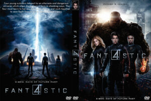 Fantastic Four dvd cover 2015