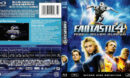 Fantastic 4: Rise Of The Silver Surfer (2007) R1 Blu-Ray DVD Cover