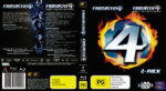 Fantastic 4/Fantastic 4: Rise Of The Silver Surfer (2009) R4 Blu-Ray DVD Cover