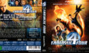 Fantastic Four (2005) R2 Blu-Ray German DVD Cover