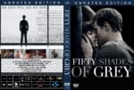 Fifty Shades Of Grey (2015) UR R0 Custom Cover & Label