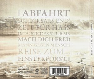 Finsterforst - Mach Dich Frei - Back