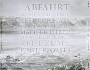 Finsterforst - Mach Dich Frei (Russia) - Back