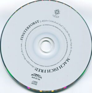 Finsterforst - Mach Dich Frei (Russia) - CD