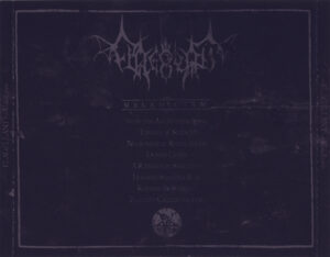 Flagellant - Maledictum - Back