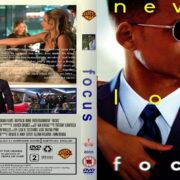 Focus (2015) R2 Custom Blu-Ray DVD Cover