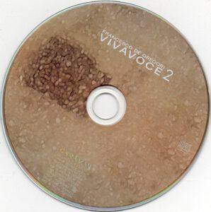 Francesco De Gregori - Vivavoce - CD (2-2)