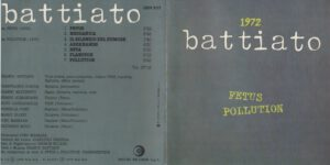 Franco Battiato - 1972 (taken from Fetus & Pollution) - Booklet (1-2)