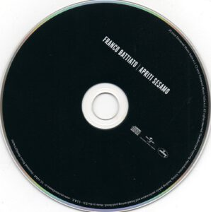Franco Battiato - Apriti Sesamo - CD