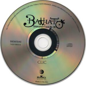Franco Battiato - Clic - CD