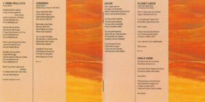 Franco Battiato - Come Un Cammello In Una Grondaia - Booklet (3-4)