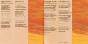 Franco Battiato - Come Un Cammello In Una Grondaia - Booklet (4-4)