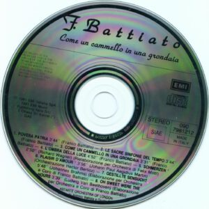 Franco Battiato - Come Un Cammello In Una Grondaia - CD