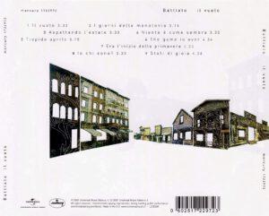 Franco Battiato - Il Vuoto - Back