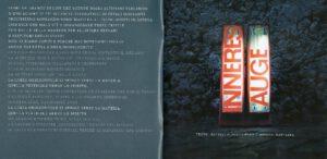 Franco Battiato - Inneres Auge - Booklet