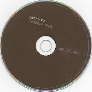 Franco Battiato - Inneres Auge - CD