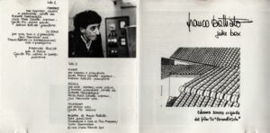 Franco Battiato - Juke Box - Booklet (1-2)