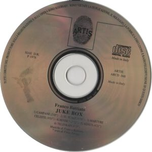 Franco Battiato - Juke Box - CD