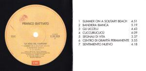 Franco Battiato - La Voce Del Padrone - Booklet (2-6)