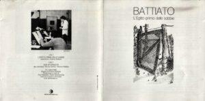 Franco Battiato - L'Egitto Prima Delle Sabbie - Booklet (1-2)