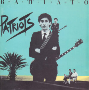 Franco Battiato - Patriots - 1Front