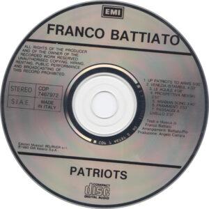 Franco Battiato - Patriots - CD