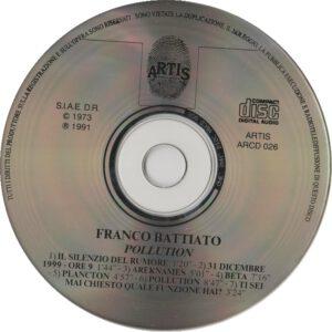Franco Battiato - Pollution - CD