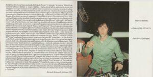 Franco Battiato - Sulle Corde Di Aries - Booklet (3-4)