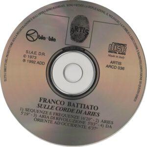 Franco Battiato - Sulle Corde Di Aries - CD