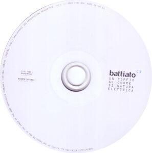 Franco Battiato - Un Soffio Al Cuore Di Natura Elettrica - CD (1-2)