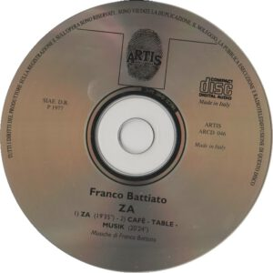 Franco Battiato - ZA - CD