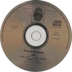 Franco Battiato - ZA - CD