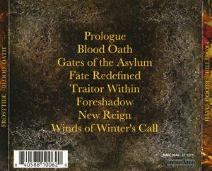 Frosttide - Blood Oath - Back