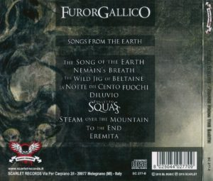 Furor Gallico - Songs From The Earth - Back