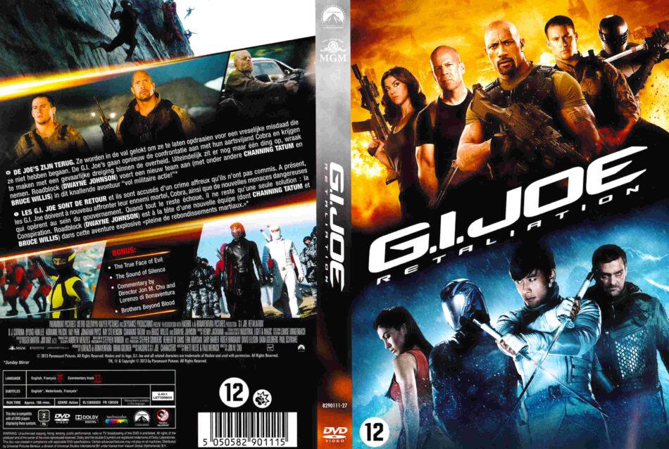 G I Joe Retaliation Dvd Cover 2013 Dutch R2
