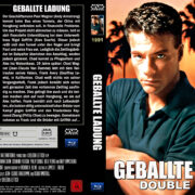 Geballte Ladung Double Impact (1991) R2 Custom Blu-Ray DVD Cover German