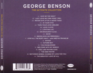 George Benson - The Ultimate Collection - Back