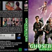 Ghostbusters 1 & 2 Blu-Ray DVD Cover (german)