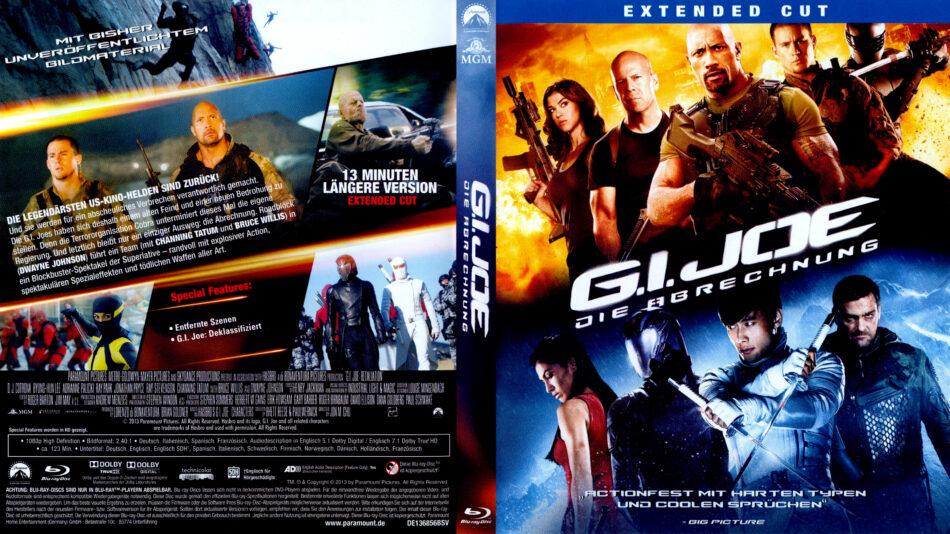 g i joe die abrechnung blu ray dvd covers 2012 r2 german. Black Bedroom Furniture Sets. Home Design Ideas