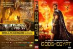 Gods Of Egypt (2016) R1 CUSTOM DVD Covers