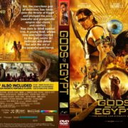 Gods Of Egypt (2016) R1 CUSTOM DVD Cover