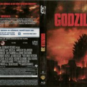 Godzilla 3D Blu-Ray German DVD Cover (2014)