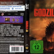 Godzilla 3D (2014) Blu-Ray German