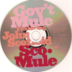 Gov´t Mule - Sco-Mule (Featuring John Scofield) - CD (2-2)