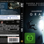 Gravity 3D (2014) Blu-Ray German Cover