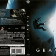 Gravity Blu-Ray German DVD Cover (2014)